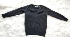 Equipment Femme Womens sz Small P Gray Cashmere Long Slv V Neck Pullover Sweater