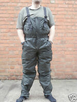 NATO Army Waterproof Bib & Brace / Salopettes Trouser Wet / Cold Weather Padded