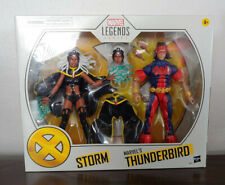 "STORM & THUNDERBIRD Hasbro Marvel Legends 6"" Figure sealed Target Exclusive MIB"