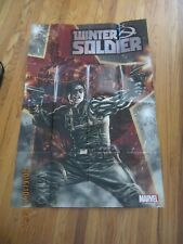 Promo Poster - Winter Soldier - Marvel 2011 - Captain America - Lee Bermejo ZPO0