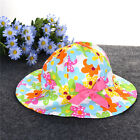 Lovely Baby Girls Summer Outdoor Bucket Hat Toddler Infant Soft Cotton Sun Cap