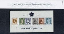 GB 2012 DIAMOND JUBILEE PRESENTATION PACK No 93 MINT SHEET SG MS 3272 SCAN  #93