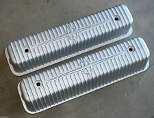 1956-1957 LINCOLN MARK 1952-57 LINCOLN ALUMINUM VALVE ROCKER COVERS PAIR