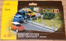 180540 Faller HO Set segnali stradali tantissimi pezzi