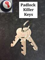 Locksmith tool Padlock killers for Master, Federal, Yale 80% of Padlocks 1st P&P