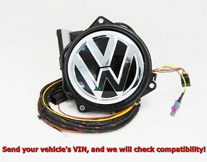 NEW OEM VW GOLF Mk7 VII eGOLF REAR VIEW CAMERA RVC LOGO EMBLEM BADGE 5G0827469 F