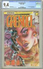 Grendel v2 #1 CGC 9.4 White Pages 1986 2122126017 1st App Christine Spar