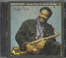 HOUSTON PERSON - Houston Person '75/Get Out'a My Way! CD