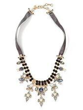 Banana Republic Velvet Jewel Tone Necklace NWT $98
