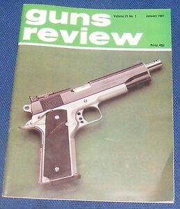GUNS REVIEW MAGAZINE JANUARY 1981 - THE STEYR AUG ASSAULT RIFLE