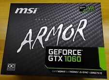 ★★★★★ MSI Geforce GTX 1060 ARMOR 6G OCV1 Graphics Card GDDR5 PCI 3.0 DX12 ★★★★★