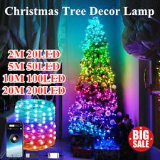 Christmas Tree Decoration Lights Custom LED String Lights App Remote Control Hot