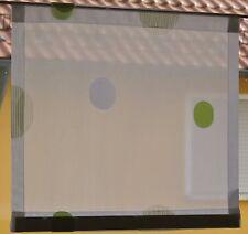 Scheibengardine Breite 46 cm x Höhe 40 cm -  neu  - modern