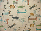 Prestigious Textiles Oh My Deer Fresh Cotton Curtain Blinds Upholstery Fabric