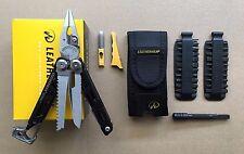 Leatherman SIGNAL+Fire Starter+Sharpener+Standard Sheath+Extender+42pcs Bit Kit