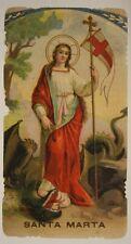 SANTINO HOLY CARD SANTA MARTA #SA532