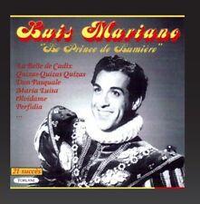 "CD NEUF ""LE PRINCE DE LUMIERE"" Luis MARIANO / 21 TITRES"