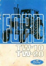 FORD TRACTOR TW10 & TW20 OPERATORS MANUAL