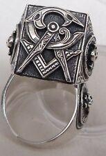 Masonic  SILVER  Ring