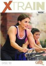 Stationary Bike Exercise Bike DVD - INDOOR CYCLING Cathe Friedrich XTRAIN Ride!
