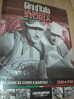 Book The Big Story Of Giro D'Italia 1940-1948 All Years By Coppi And Bartali