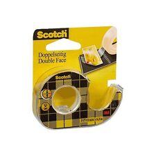 12 rollos de Cinta adhesiva doble cara Scotch 3M con portarrollos 136-d