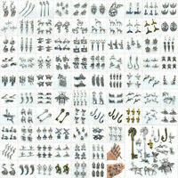 Lot Antique Charms Pendants For Earrings Necklace Bracelet Jewelry Making DIY