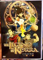 Avatar: The Legend Of Korra: Book 1 2 3 4 (Chapter 1 - 52 End) ~ All Region ~