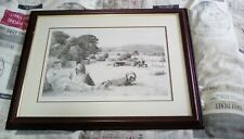 More details for rare mike sibley bearded collie prints