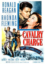 Cavalry Charge (aka The Last Outpost) (1951) DVD Ronald Reagan & Rhonda Fleming