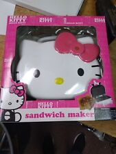 Hello Kitty Sandwich Maker with Original Box, Tested, Works