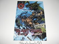 Vagrant Story Preview Comic E3 2000 Exclusive Michael Turner Art Video Game PS1