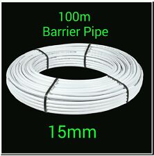 100m x 15mm barrier pipe coil plumbing pushfit pipe 24hr courier service