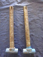 Vintage NOS Sno Jet Snowmobile Steering Ski Legs Spindles