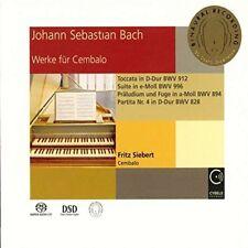 Fritz Siebert - Johann Sebastian Bach Works for Harpsichord [SACD]