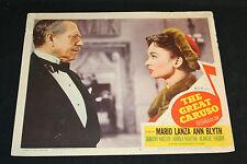 1951 The Great Caruso Lobby Card #6 Mario Lanza Ann Blyth 51/268 (C-5)