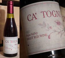 1993er ca 'Togni-Sweet Red Wine-Philip Togni-Napa Valley!!!