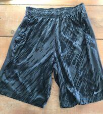 New Nike Men/'s Dri-Fit Training Shorts Blue//Black 698830 418