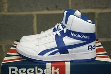 Men Reebok BB 5600 Archive Basketball Leather Classic Blue White 9 9.5 10