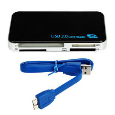 Compact Flash Memory Card Reader Adapter For TF SDHC CF Micro SD+ USB 3.0 Cable