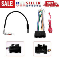 For Gmc Chevrolet Buick Saturn Car Stereo Radio Wire Harness Antenna Adapter (Fits: Buick)