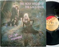 Holy Sisters Of The Gaga Dada LET'S GET ACQUAINTED lp 1986 Bomp AUTOGRAPH signed
