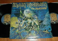 "IRON MAIDEN 1985 ""Life After Death"" 2-LP w 2 Minutes To Midnight NM UNPLAYED"