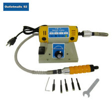 110V Electric Chisel Carving Tools with Flexible Shaft Wood Carving Machine 300W