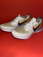 Nike Epic React Flyknit 2 Men's Running Shoe CI7583 100 White Black Pink SZ 11.5