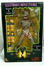 The Mummy Electronic 12in Movie Action Figure 1998 NEW Horror Toy Island NIB