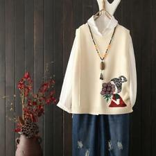 Womens Sleeveless Casual Knitted Sweater Vest Warm Fall Scoop Casual Outwear