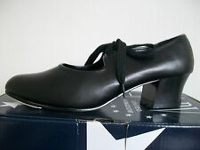 Roch Valley PVCTC Black Cuban Heel Tap shoes size 7 UK - 41 EU