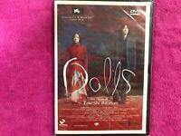 Dolls DVD Nuovo Sigillato Takeshi Kitano Miho Kanno Hidetoshi Nishijima