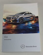Instrucciones Servicio Mercedes-Benz Cla Tipo 117 Stand 01/2013
